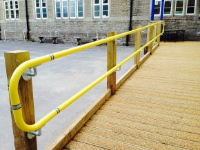 New disabled access ramp at Wincanton School