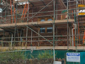 Wiveliscombe School 2015 - new windows and re-pointing