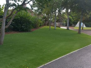 Artificial grass at Halcon School